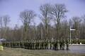 Langenud kaitseväelaste mälestamine Paldiskis.