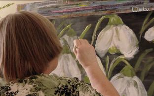 Magda-Maria Pentsa maalimas