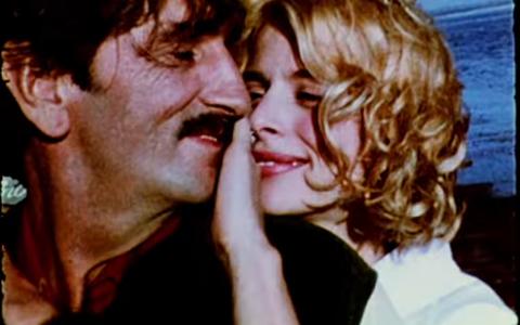 Armastus:  Harry Dean Stanton ja  Nastassja Kinski filmis