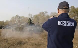 OSCE vaatleja Luganski regioonis.