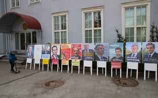 Prantsusmaa presidendivalimised Tallinnas.
