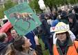 Viini tänavatel võis näha korraldajate hinnangul 3000 meeleavaldajat, politsei arvates pigem 1600.