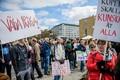 Stockholmis tuli tänavatele ligikaudu 2500 inimest.