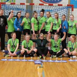 Pronksi võitnud Põlva SK/Toode naiskond.