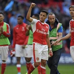 Arsenali võiduvärava lõi Alexis Sanchez.
