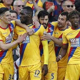 Christian Benteke (17) tõi Crystal Palace'ile võidu Liverpooli üle.