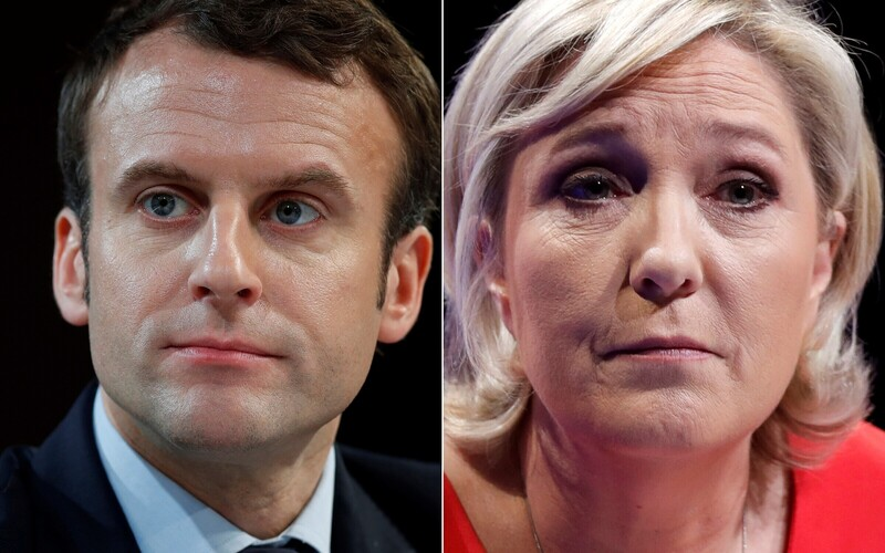 Macron and Le Pen will advance to a runoff election scheduled for May 7.