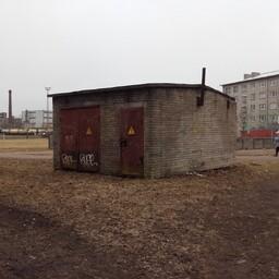 Это здание в нарве можно будет разрисовать.