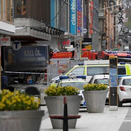 Rünnakupaik Stockholmis.