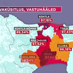 Despite the high percentage of referendum votes against it, Illuka, Alajõe, Iisaku, Mäetaguse and Tudulinna Municipalities will be merged to form Alutaguse Municipality.