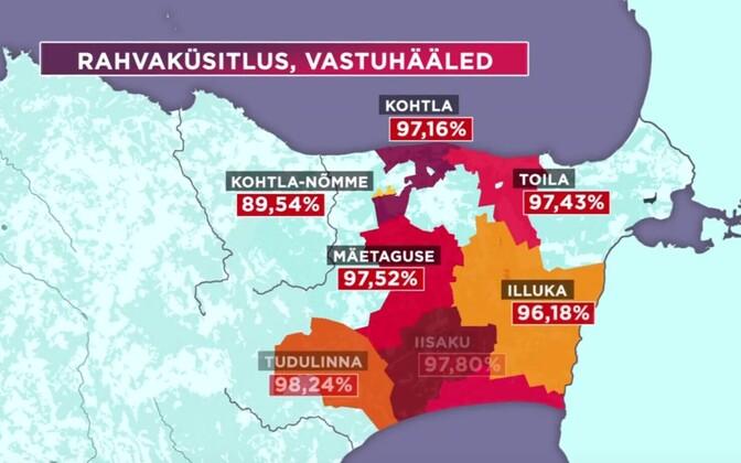 Despite the high percentage of referendum votes against it, Illuka, Alajõe, Iisaku, Mäetaguse and Tudulinna Municipalities will be merged to form Alutaguse Municipality.
