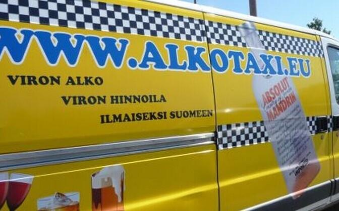 Alkotaxi reklaam 2009. aastal.