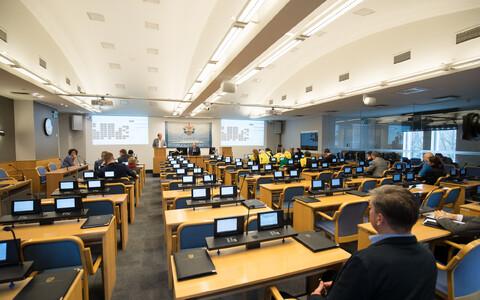 Tallinna linnavolikogu on 79-liikmeline.
