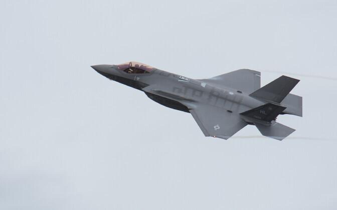 Истребители F-35. Иллюстративное фото.