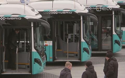 Tallinna linnaliinibussid.