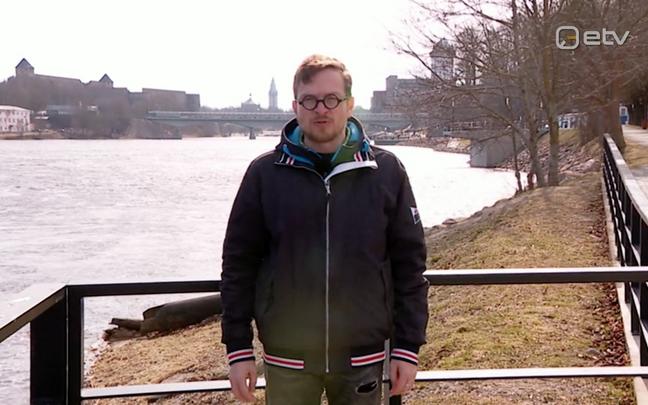 Jüri Muttika tutvumas Narva promenaadiga
