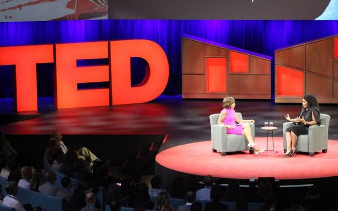 Serena Williams TED-i konverentsil.