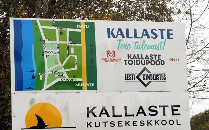 После административной реформы Калласте потеряет статус независимого города.