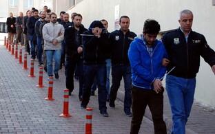 Politseioperatsioon 26. aprillil Kayseri linnas.