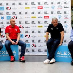 Eesti korvpalli meistriliiga pressikonverents