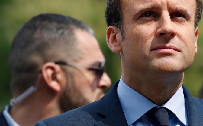 Prantsusmaa presidendiks kandideeriv Emmanuel Macron.