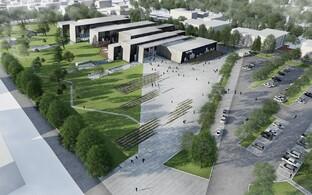 Новое здание Академии МВД построят в Таллинне к началу 2019 года.