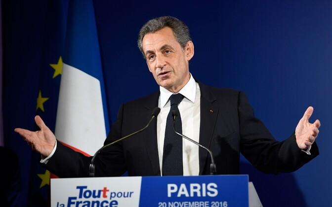 Paremtsentristist ekspresident Nicolas Sarkozy.