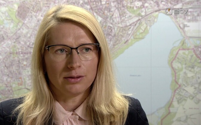 Director of Tallinn's city planning department, Anu Hallik-Jürgenstein.