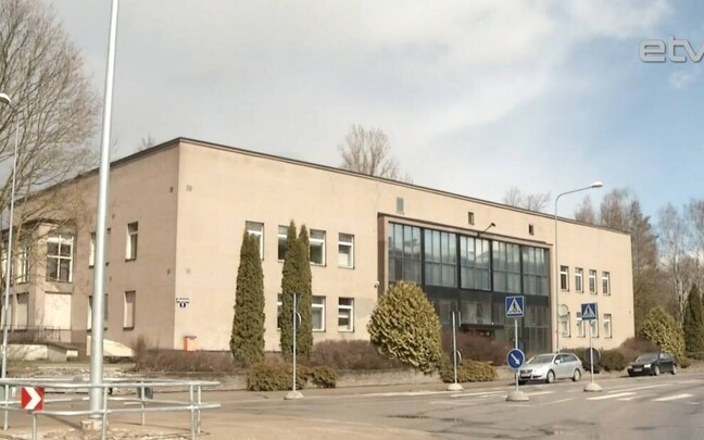 Старое здание Эстонского национального музея.