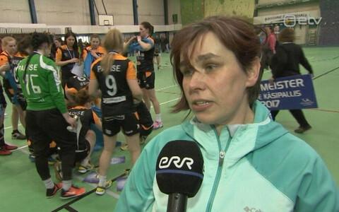 Reval-Sport/Padise/Lasnamäe treener Siiri Uusküla