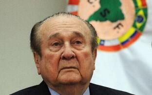 Lõuna-Ameerika jalgpallikonföderatsiooni endine president Nicolas Leoz.