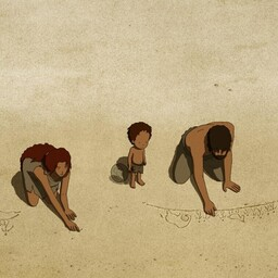 "Michael Dudok de Wit ""Punane kilpkonn"" (""The Red Turtle"")"