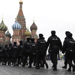 Politseinikud Moskvas.