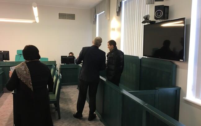 Суд над Юрием Воробьем.