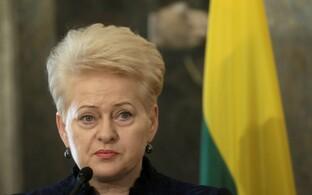 Leedu president Dalia Grybauskaite.