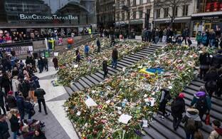 Terrorirünnakute ohvrite mälestamine 14. aprillil Stockholmis.