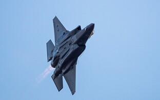 Iisraeli õhuväe sõjalennuk F-35 2016. aasta detsembris. Samal kuul sai Iisrael USa-lt esimesed lennukid.