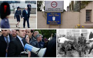 May ja Johnson, Iirimaa piiripunkt, Macron Amiens'is ja Prantsusmaa viimane duell.