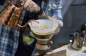 Kohvi valmistamine kohvifestivalil