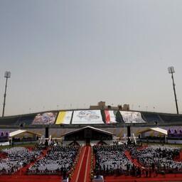 Paavst Franciscus pidas Kairo staadionil missa.