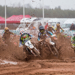 Eesti motokrossi meistrivõistluste avaetapp Langel