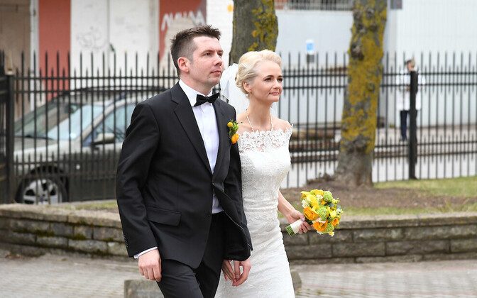 Martin Repinski ja Siret Kotka pulmad