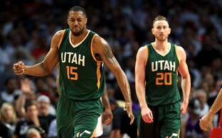 Derrick Favors, Gordon Hayward