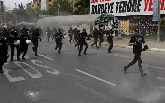 Türgi märulipolitsei.