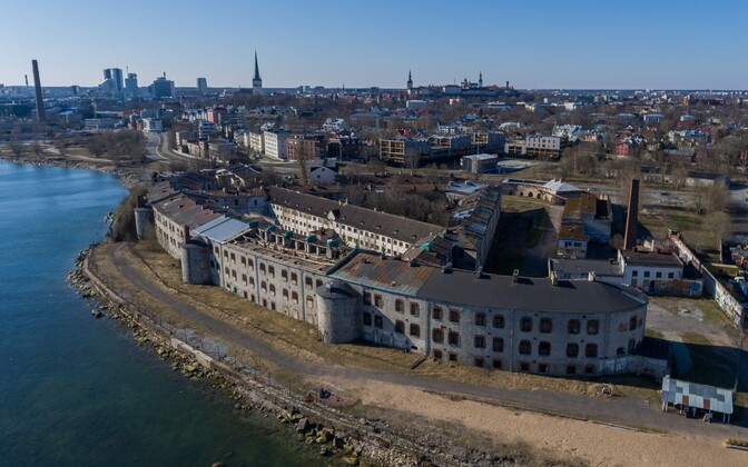 The Patarei Sea Fortress in Tallinn. Built in the 19th century, the fortress served as a prison from 1920 to 2002.