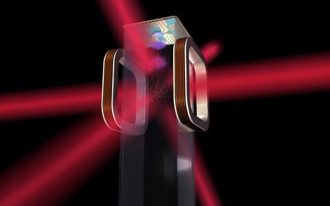 Teadlased kasutasid aatomite jahutamiseks lasereid.