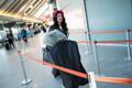 Laura ja Koit lennujaamas
