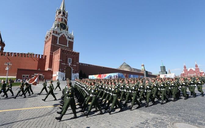 Парад на Красной площади 9 мая 2016 года.