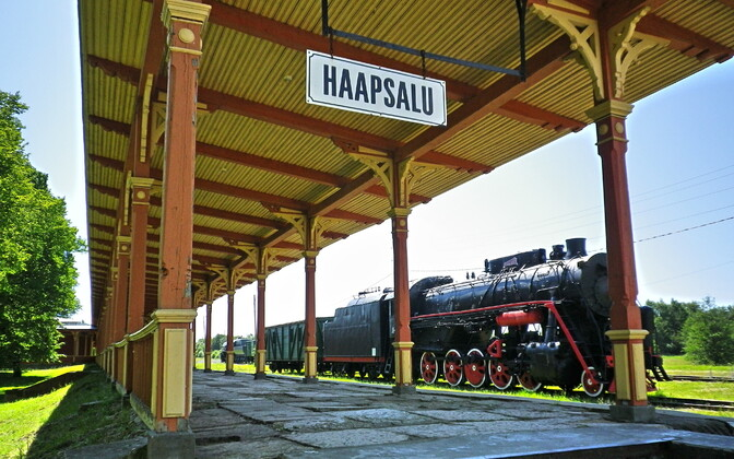 The old Haapsalu Railway Station may soon see active use again.