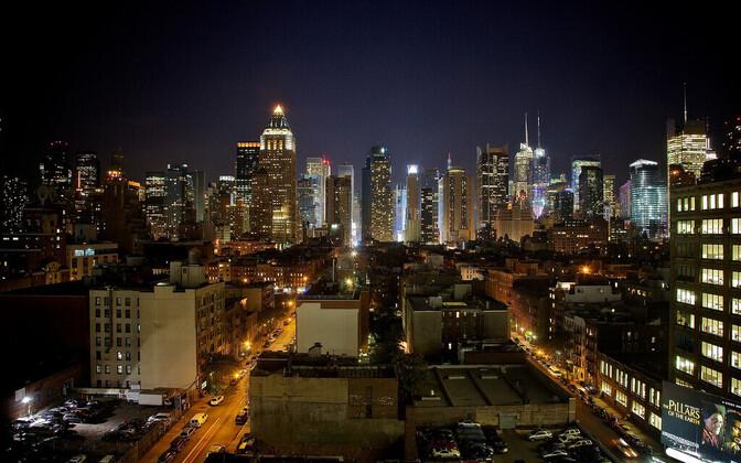 Vaade New Yorkile.